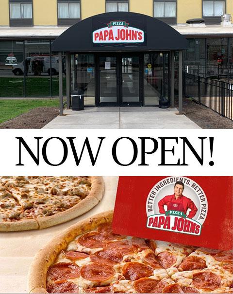 Papa John's Now Open